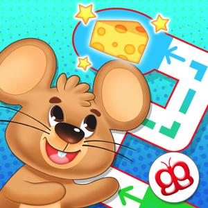 play Toddler Maze 123 - Fun Learning With Children Animated Puzzle Game