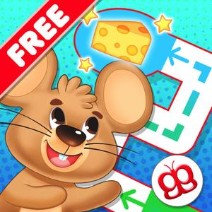 play Toddler Maze 123 Pocket Free - Fun Learning With Children Animated Puzzle Game