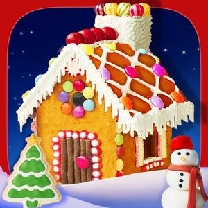 play Christmas Candy House Maker - Free