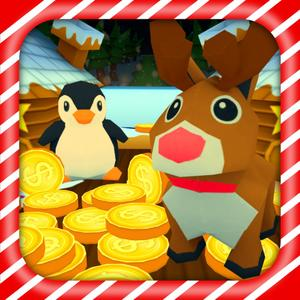 play Christmas Coin Pusher Dozer Dropper 3D For Ipad