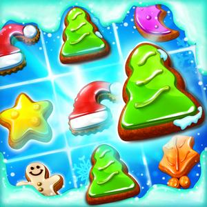 play Christmas Cookie - Match 3 Game