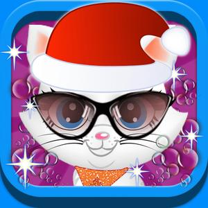 play Christmas Cute Pet Care ,Spa ,Dress Up - Free Kids Game