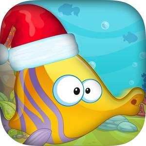 play Christmas Fish Frenzy Mania Pro - Splashy Holiday Challenge
