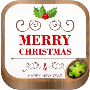 play Christmas Greetings Puzzles