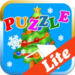 play Christmas Puzzle Game Lite