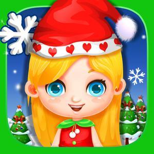 play Christmas Salon - Messy Kids