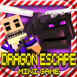 play Dragon Escape: Mc Survival Hunter Mini Block Game With Multiplayer