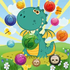 play Dragon Pop Bubble Shooter Mania : Match 3 Pro Hd Free Game