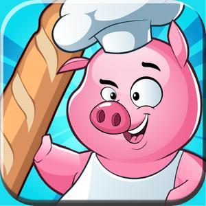 play Flippin' Baguette - Chef Piggy