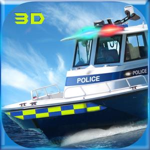 play Police Boat Simulator 3D: Coast Guard Game