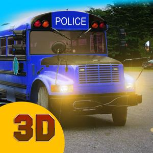 play Police Bus Driver 3D: Prison Full