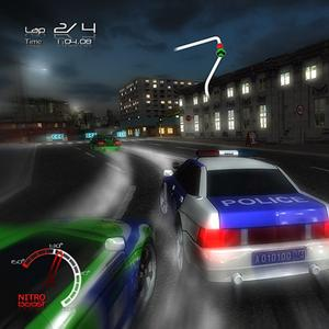 play Police Car Park 3D