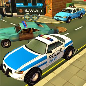 play Police Car Race & Chase Adventure Sim 3D