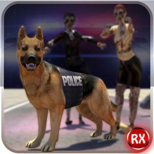 play Police Dog Vs Zombies Attack
