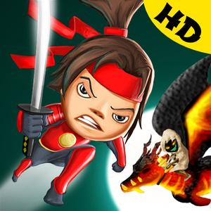 play Sling Ninjas Vs Dragon Demons Hd