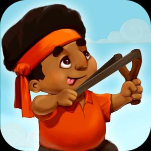 play Slingshot Soldier Shooting - India Independence Day
