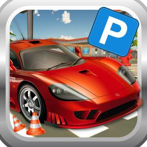 play Town Car Parking Simulator 3D