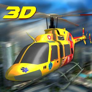 play 911 City Rescue Helicopter Sim 3D
