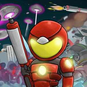 play Aliens Invasion: Defense And Guard The Earth