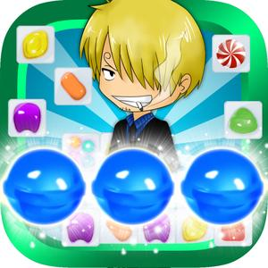 play All Blue Puzzle - Pirates Candy Crusher
