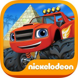 play Blaze And The Monster Machines - Racing Game For Kids Hd