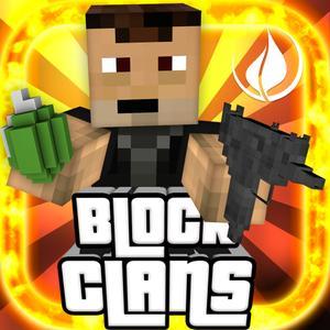 play Block Clans - 3D Pixel Survival Fps & Tps Gun Shooter