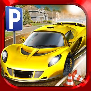 play City Driving Test Car Parking Simulator - Real Weather Racing Sim Run Race