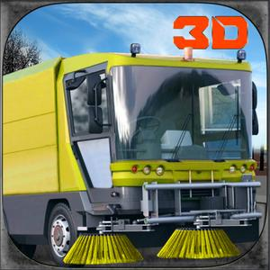 play City Garbage Truck Simulator 3D – Drive Trash Vehicle & Digger Crane To Sweep The Roads