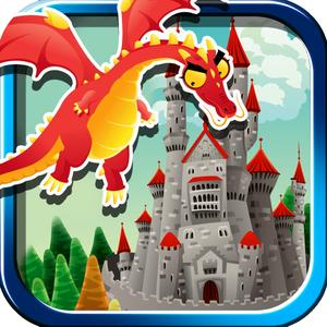 play Flying Dragon Bomber - Kingdom Fortress Crusher