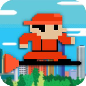 play Flying Flappy Plumber