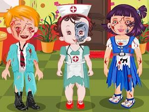 play Baby Lisi Zombie Land