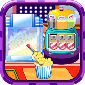 play Popcorn Maker - Serve Your Customer With Popcorn And This Fun Cooking Game.