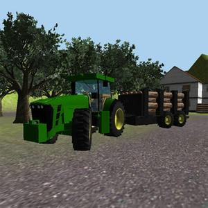 play Tractor Simulator 3D: Forestry