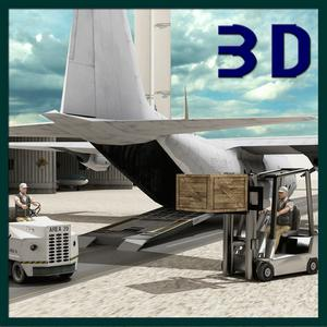 play Transport Truck Cargo Plane 3D