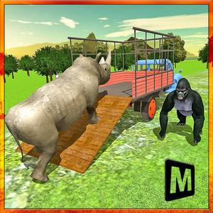 play Transport Truck Zoo Animals