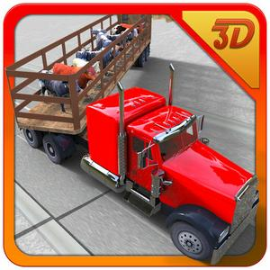 play Transporter Truck: Cow Cattle 3D - Real Parking And Trucker Simulation Game