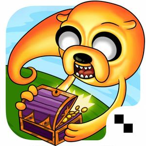 play Treasure Fetch - Adventure Time