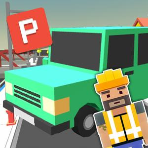 play Blocky Car Parking Simulator 3D - Test Your Parking & Driving Skills In Real Blocks City