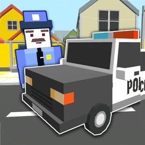 play Blocky Police Car Simulator - Test Your Parking & Driving Skills In Real Blocks City