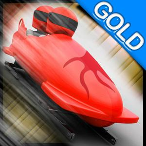 play Bobsleigh Fast Winter Race : The Infinite Speed Sport Ice Track - Gold Edition