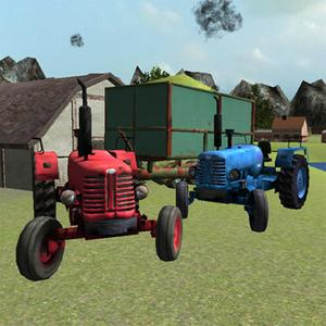 play Classic Tractor 3D: Silage