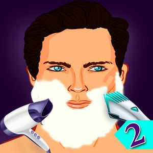 play Drunken Shaving Barber Hair Beauty Salon 2 : The Beard Cut Removal Dangerous Makeover 2Nd Episode - Gold