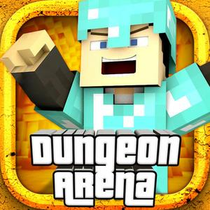 play Dungeon Arena - Survival Hunter Mini Block Game With Multiplayer