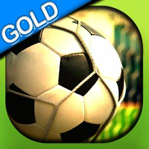 play Football Super Shoot Mania - The Flick Soccer Finals - Gold Edition