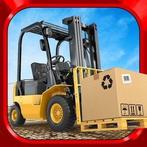 play Fork Lift Truck Driving Simulator Real Extreme Car Parking Run