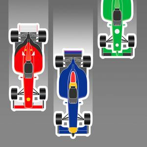 play Formula Scroller - Tap The Gp Car!