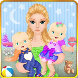 play Mommy'S Newborn Twin Baby Care