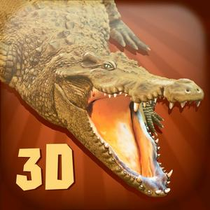 play Monster Crocodile Simulator 3D