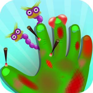 play Monster Hand And Nail Doctor - Nail And Hand Surgery, Kids Free Game For Fun