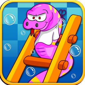 play Snakes And Ladders In Aquarium Full